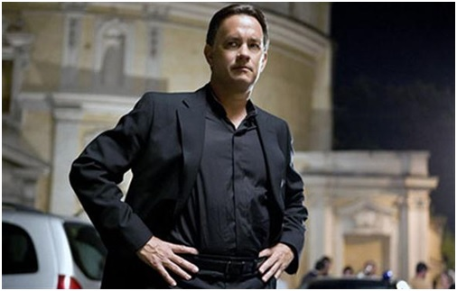 Tom Hanks as Havard symbologist Robert Langdon