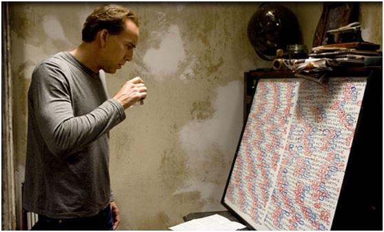 Nicholas Cage as M.I.T. professor John Koestler in Knowing