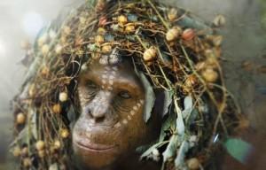Cornelia (Judy Greer) - female ape, mother.