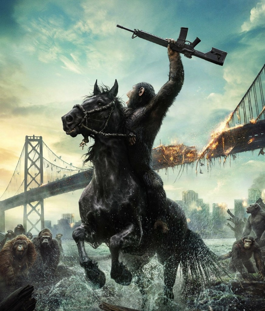 Caesar (Andy Serkis) - Dawn of the Planet of the Apes (Matt Reeves, 2014)