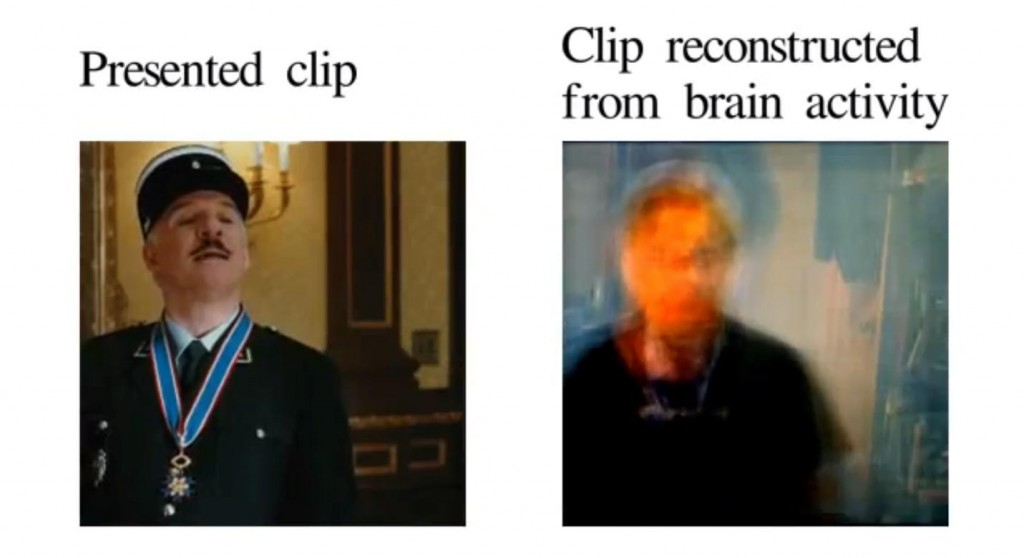Nishimoto, et al (2011) Movie reconstruction from human brain activity