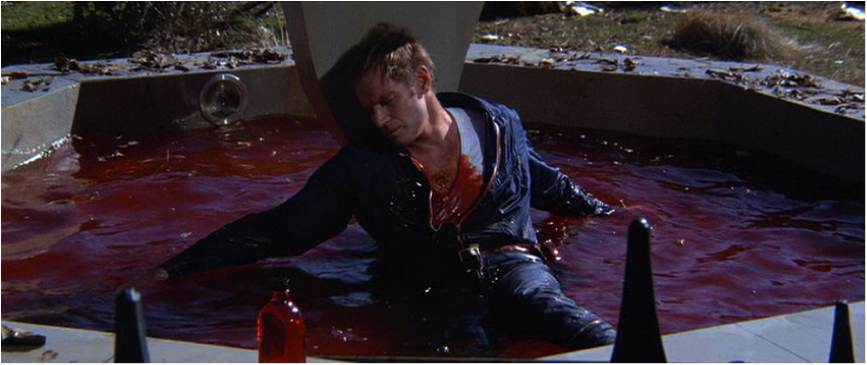 Neville's sacrificial blood saves humanity in The Omega Man (1971) - Charlton Heston transitioned from being God (and Moses) in Classical Hollywood biblical epics to playing God in the labs of science fiction films of the seventies.
