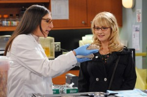 Amy (Mayim Bialik) and Bernadette (Melissa Rauch) are The Big Bang Theory's most prominent female scientists. Both biologists.